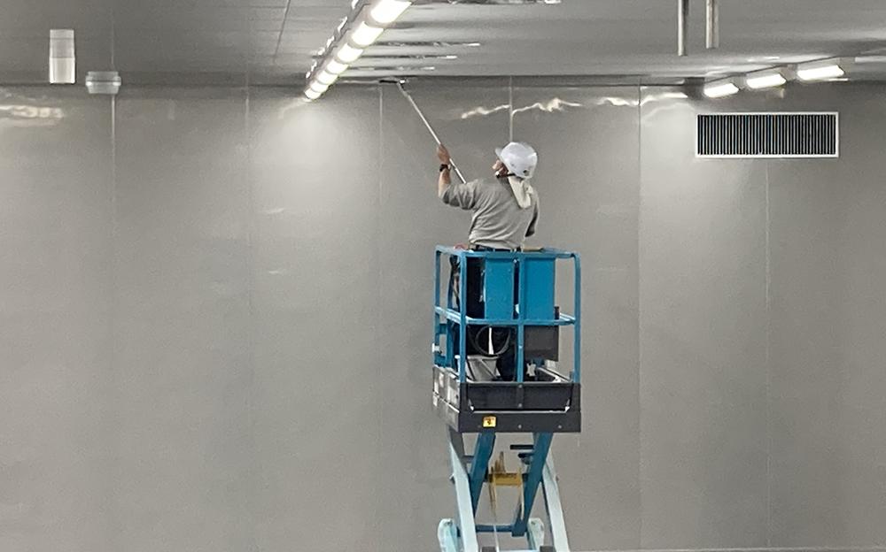 天井クリーニング